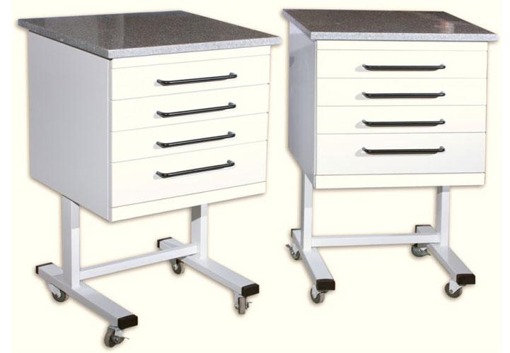 Mobile Dental Cabinets - Abu Dhabi Medical Industries | Amilab